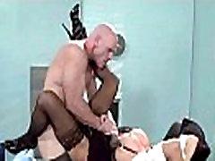 Tvrdi seks u uredu s velikim okruglim sisama napaljeni djevojka Аликс ris pogled-01