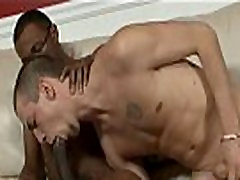 Blacks On Boys - Gay Hardcore Bareback Action Porn Movie 10