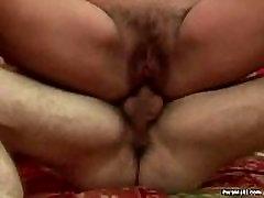 Granny Gets ballbusting biporn Anal