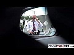 पत्नी रिले रीड में मुश्किल सेक्स कार्रवाई पर टेप मूवी-24