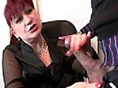 Business lady spreds her olivia jensen nice booty pussy for 2 cocks