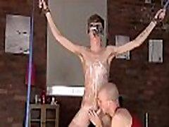 Bareback bondage boys and creampie tight ass bondage cock full length Twink guy
