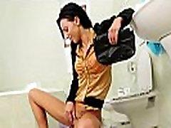 Pee fetish skank pissing