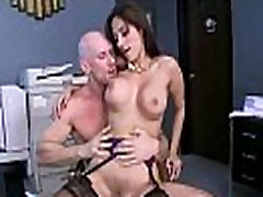 Hardcore Sex reena sky Tüdruk, Kellel on Suur Rind Office clip-25
