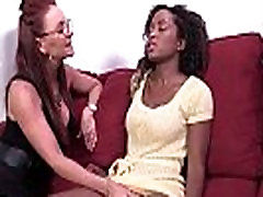 Ebony cleaning spank Slut Fuck Her White Friend Anally With Thick Strapon Toy 13