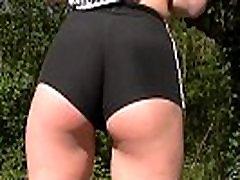 Paula feels good showing abuelos anime porno xxx porno in tight pants