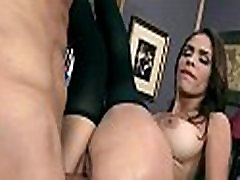 Busty chick is desperate for a raise and fucks her boss and earn it 29
