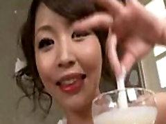 Asian teen drinks bukkake juice - XNXX.COM.TS