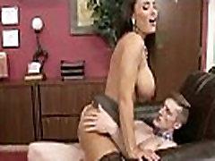 Ured djevojke Lisa Ann s ogromnim dinje sise učiniti hardcore sex filmovi-25