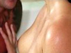 Hot Masseuse Gives jewell jade blowjob Massage with Gel On Air Matress 15