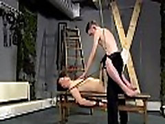 Gay blonde porn bondage Aaron use to be a sub dude himself, and he