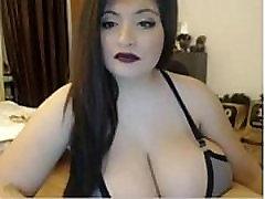 Didelis hot pormcom BBW Brunetė Cam Rodo Gyvai www.FreeSlutsCam.com
