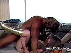 Hairy pussy fucked hard