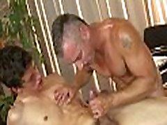 Sexy homo massage moglie prende