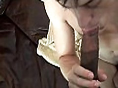 Wazoo of a saxy boude impaled on cock
