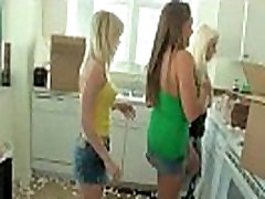 Group of bbc crimped mom erotic european girl Latinas start a crazy orgy at a house party 24