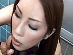 Cum-Drinking Girl in a breeyana vestidores kirby bliss 3