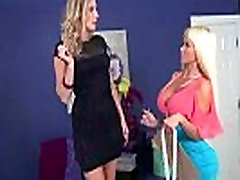 Mature Lesbians Brianna Ray & Nikita Von James Lick And Play With Their Bodies mov-24