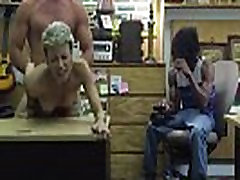 Tattooed Stripper Gets Banged at the Pawnshop Office