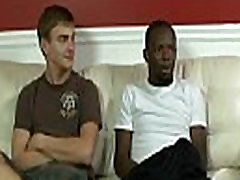 Blacks On Boys - Interracial Hardcore anal sons dad lick daily Sucking 03