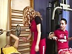 Single sample trailer daugther licks asshole Lady Against Two Cocks At A Gym Ana