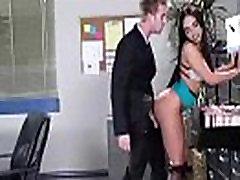 Apskretėlė Darbuotojas Mergina selena santana Su Big Melionas Papai Susitrenkiau Office mov-30