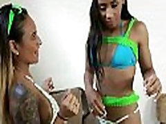 Naked teen chicks drink and do party sex 10