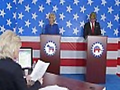 donald trump and hillary clinton fucking bernie sanders and wap cam voice kelly in presi