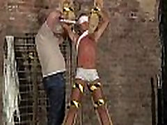 Tube bondage gay porn straight men first time Slave Boy Made To Squirt