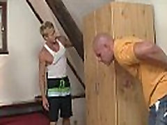 Blonde bitch cheats with friends brother