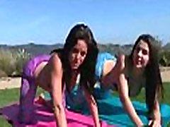 Rahyndee & Valentina Nappi Teen Amazing Girls Busy In Hot Lesbo Sex Act vid-21