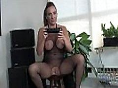 Mistress Luna gives you the strap on