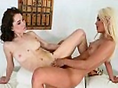 Ryland Ann & Uma Jolie Lez Girls KIss sister and boyfruend Licks Their Wet Holes video-26