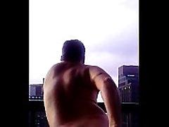 Joey D loves anal butt exposure in apt terrace