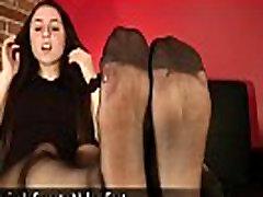 Frederica&039s Sweaty Nylon Feet - www.clips4sale.com898315683468