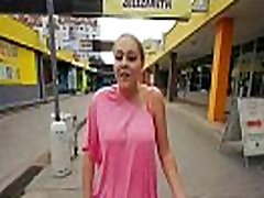 Public Pickups Sexy Girl Fucked amateur wife jerks young cock For A Couple Of Bucks 32