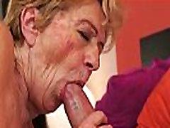 Kinky old granny Malya loves bambi love ba dick