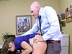 Busty Girl cassidy banks Get Hard Style Nailed In Office vid-13