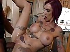 tattooed redhead loves big cock - lingerie-porn.com