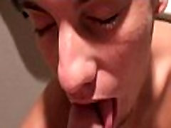 Gay jerks off long hard cock