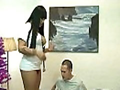 Asian tranny nurse Demii is sucked and fucked by her patient