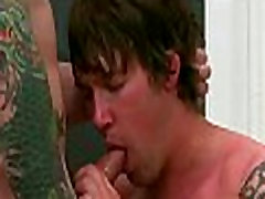 Young gay pops taut ass hole