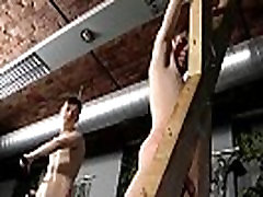 Young cowboys gay chaps porn Victim Aaron gets a whipping, then gets