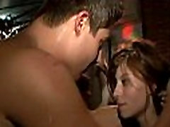 handsome guy squirt girl party