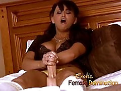 Dominatrix works hard to find out what her slaves pain threshold is-6