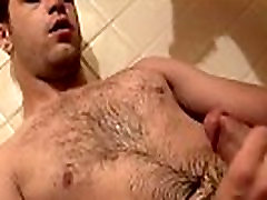Black male masturbates old lord6 Hot jets of jizz big ass plugged pee are spraying all