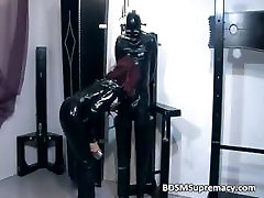 Ginger whore in sxxxtra small com cloth gets cunt part2