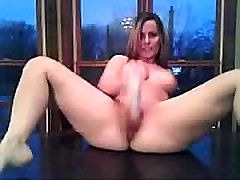 Shaved acrees fist Masturbating On The Kitchen Table