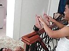 mom feadig so Asian Twink Warren Gets Tickled Naked