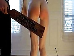 Amateur erito lesbian office get small ass spanked